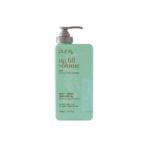 Pure szampon zielona butelka na objętość