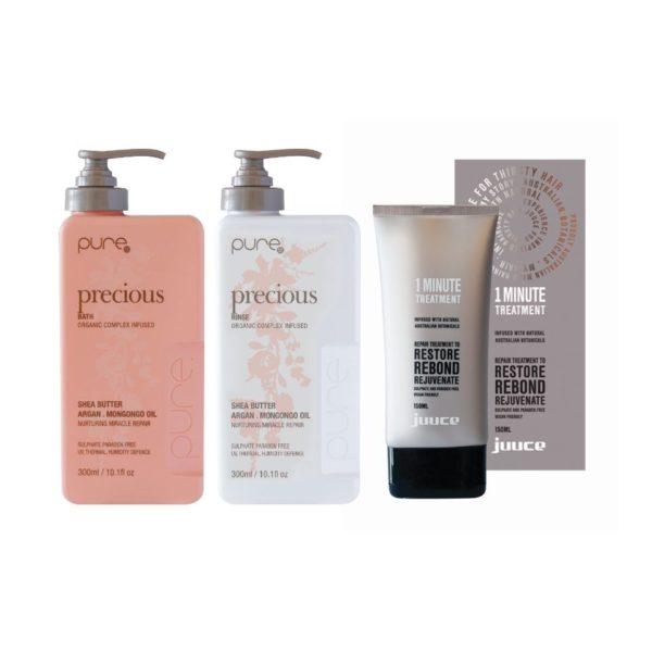 Pure odżywka szampon i wegańska kuracja regenerująca włosy